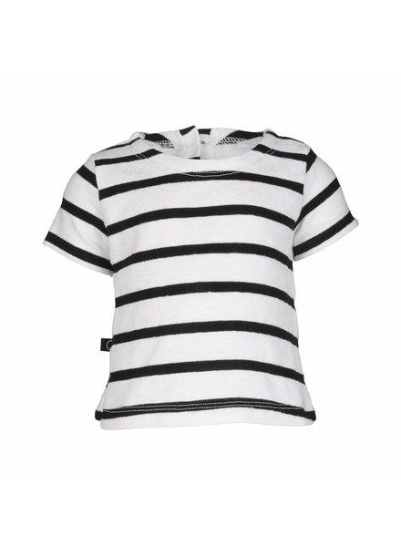 nOeser nOeser Shirt Til - Zwart Wit Gestreept