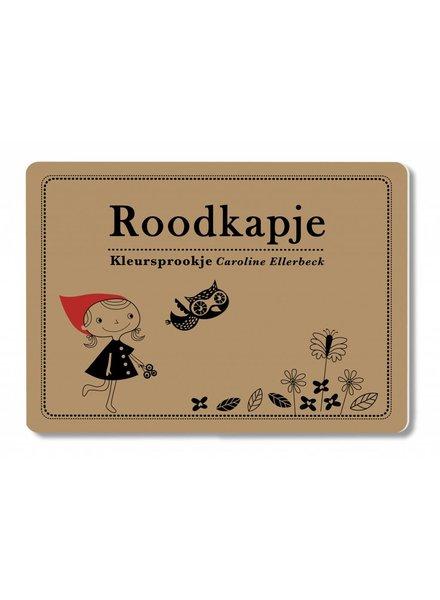 C. Ellerbeck Kleurboek Roodkapje - Caroline Ellerbeck