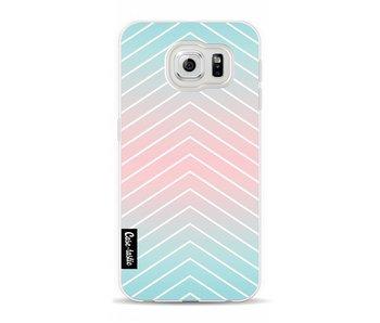 Mint Stripes - Samsung Galaxy S6