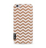 Casetastic Softcover Apple iPhone 6 / 6s - Copper Chevron