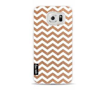 Copper Chevron - Samsung Galaxy S6