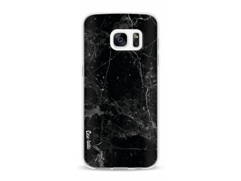 Casetastic Softcover Samsung Galaxy S7 - Black Marble