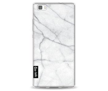 White Marble - Huawei P8 Lite