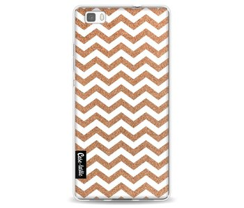 Copper Chevron - Huawei P8 Lite