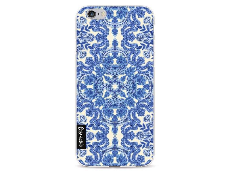 Casetastic Softcover Apple iPhone 6 / 6s  - Blue White Folk Art