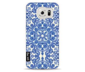 Blue White Folk Art - Samsung Galaxy S6