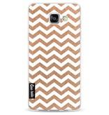 Casetastic Softcover Samsung Galaxy A5 (2016) - Copper Chevron