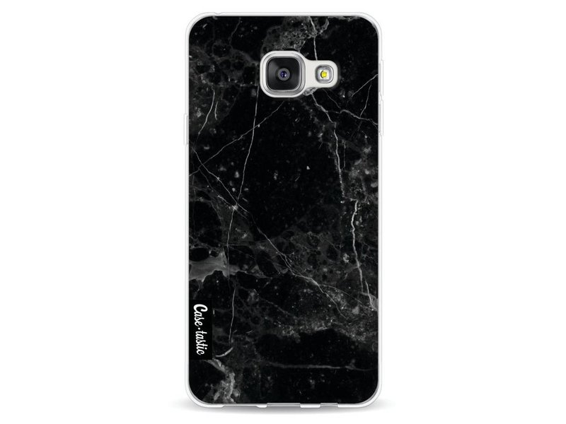 Casetastic Softcover Samsung Galaxy A3 (2016) - Black Marble