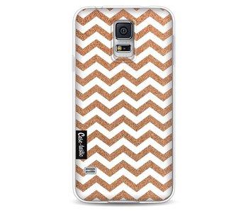 Copper Chevron - Samsung Galaxy S5