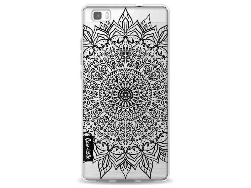 Casetastic Softcover Huawei P8 Lite - Black Mandala