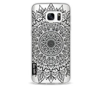 Black Mandala - Samsung Galaxy S7