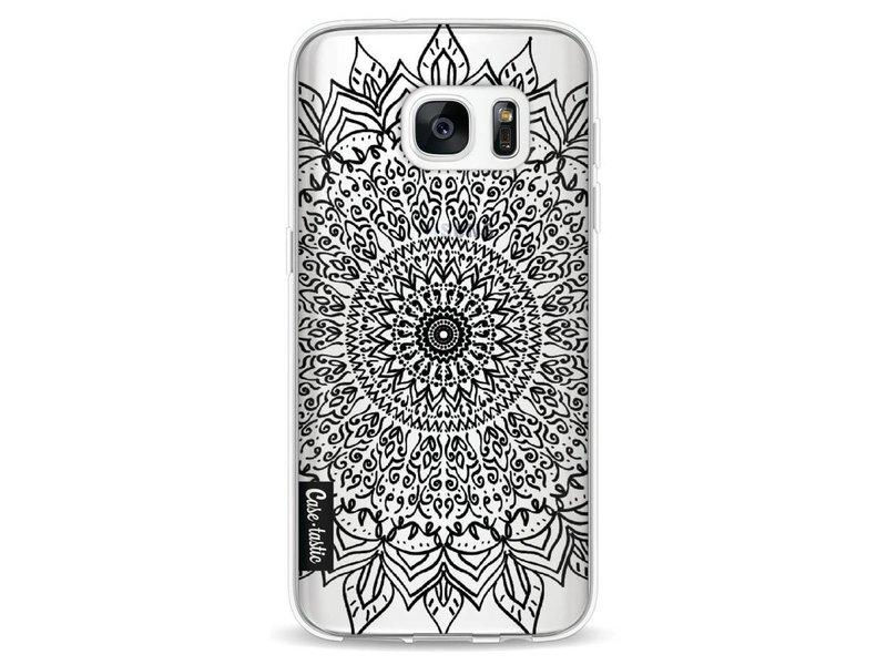 Casetastic Softcover Samsung Galaxy S7 - Black Mandala