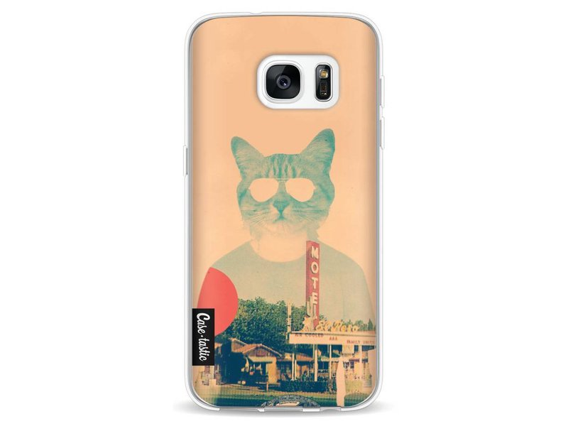 Casetastic Softcover Samsung Galaxy S7 - Cool Cat