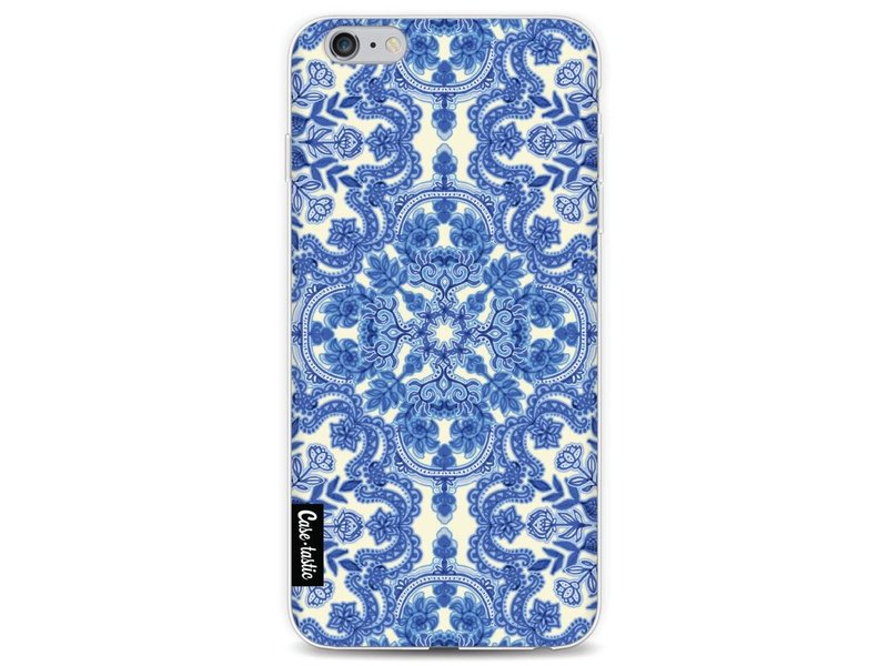Casetastic Softcover Apple iPhone 6 Plus / 6s Plus - Blue White Folk Art