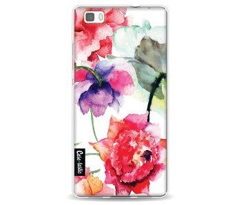 Watercolor Flowers - Huawei P8 Lite