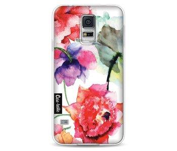 Watercolor Flowers - Samsung Galaxy S5