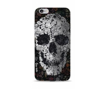 Doodle Skull BW - Apple iPhone 6 / 6s