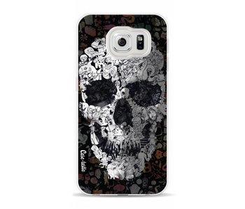 Doodle Skull BW - Samsung Galaxy S6