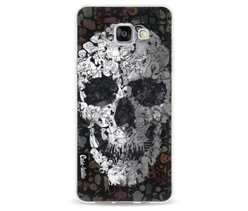 Doodle Skull BW - Samsung Galaxy A5 (2016)