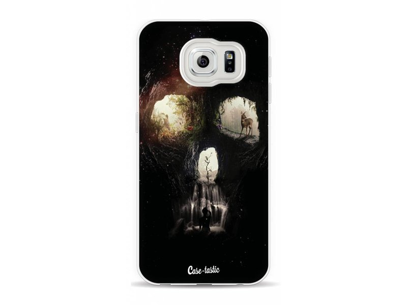 Casetastic Softcover Samsung Galaxy S6 - Cave Skull