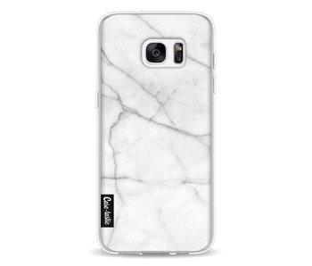White Marble - Samsung Galaxy S7 Edge