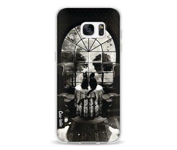 Room Skull BW - Samsung Galaxy S7 Edge