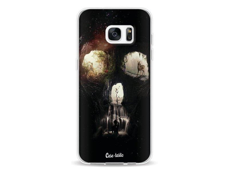 Casetastic Softcover Samsung Galaxy S7 Edge - Cave Skull