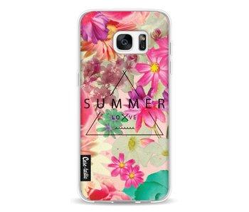 Summer Love Flowers - Samsung Galaxy S7 Edge
