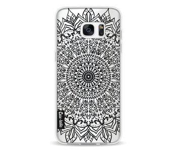 Black Mandala - Samsung Galaxy S7 Edge