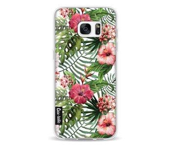 Tropical Flowers - Samsung Galaxy S7 Edge