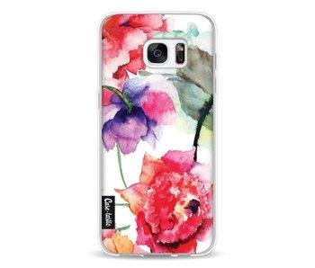 Watercolor Flowers - Samsung Galaxy S7 Edge