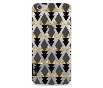 Gold Black Triangles - Apple iPhone 6 / 6s