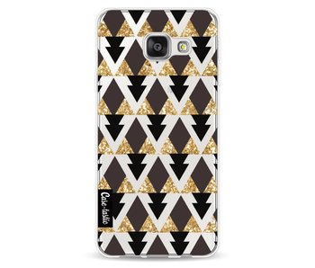 Gold Black Triangles - Samsung Galaxy A3 (2016)