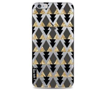 Gold Black Triangles - Apple iPhone 6 Plus / 6s Plus