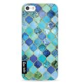 Casetastic Softcover Apple iPhone 5 / 5s / SE - Aqua Moroccan Tiles