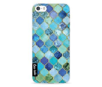 Aqua Moroccan Tiles - Apple iPhone 5 / 5s / SE