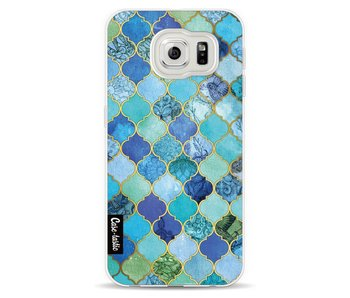 Aqua Moroccan Tiles - Samsung Galaxy S6