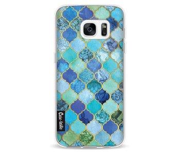 Aqua Moroccan Tiles - Samsung Galaxy S7