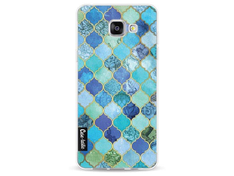 Casetastic Softcover Samsung Galaxy A5 (2016) - Aqua Moroccan Tiles