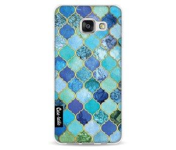 Aqua Moroccan Tiles - Samsung Galaxy A3 (2016)