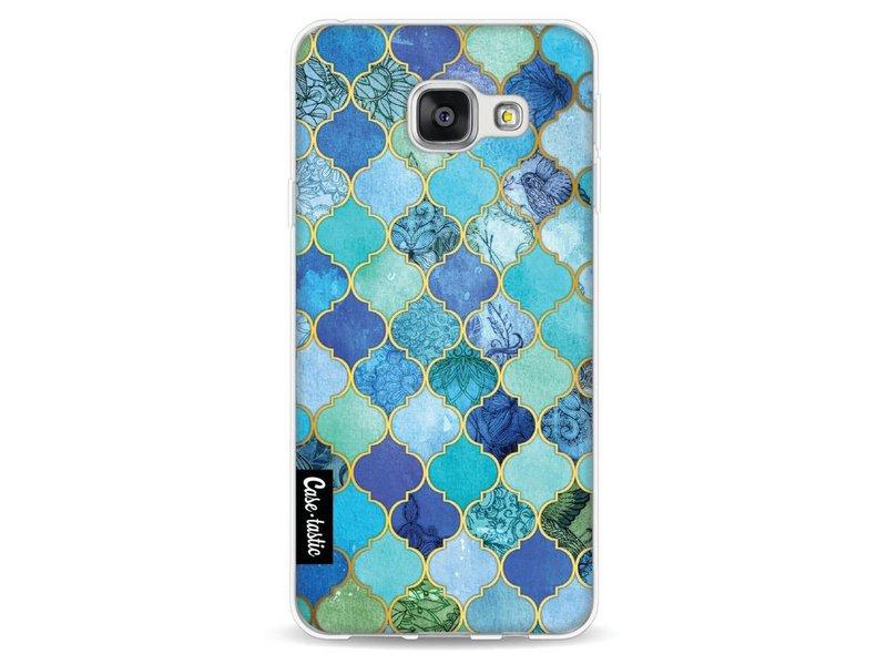 Casetastic Softcover Samsung Galaxy A3 (2016) - Aqua Moroccan Tiles