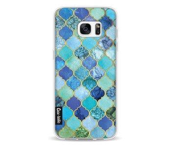 Aqua Moroccan Tiles - Samsung Galaxy S7 Edge