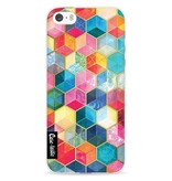 Casetastic Softcover Apple iPhone 5 / 5s / SE - Bohemian Honeycomb