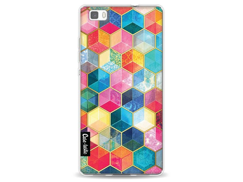 Casetastic Softcover Huawei P8 Lite - Bohemian Honeycomb