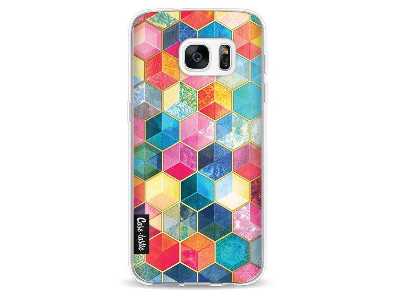 Casetastic Softcover Samsung Galaxy S7 - Bohemian Honeycomb