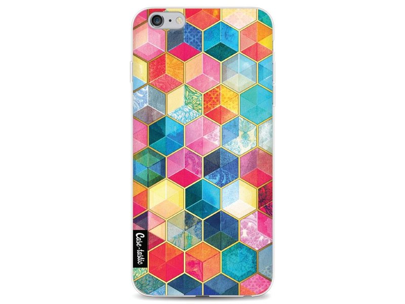 Casetastic Softcover Apple iPhone 6 Plus / 6s Plus - Bohemian Honeycomb