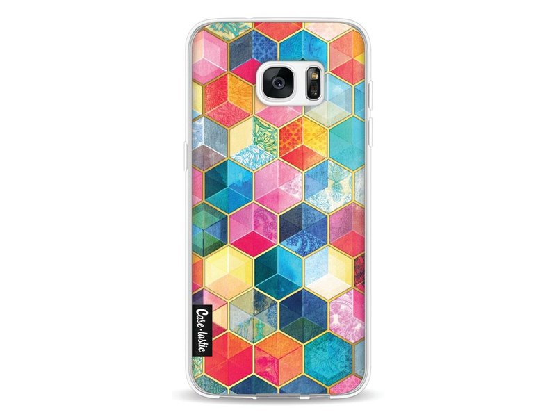 Casetastic Softcover Samsung Galaxy S7 Edge - Bohemian Honeycomb