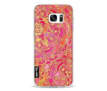 Hot Pink Barroque - Samsung Galaxy S7 Edge