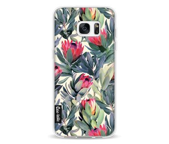 Painted Protea - Samsung Galaxy S7 Edge