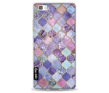 Purple Moroccan Tiles - Huawei P8 Lite
